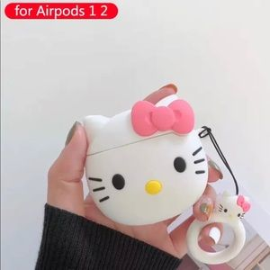 Adorable Hello Kitty Apple AirPods case cover